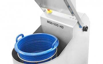 MSD-500 Zentrifuge geöffnet